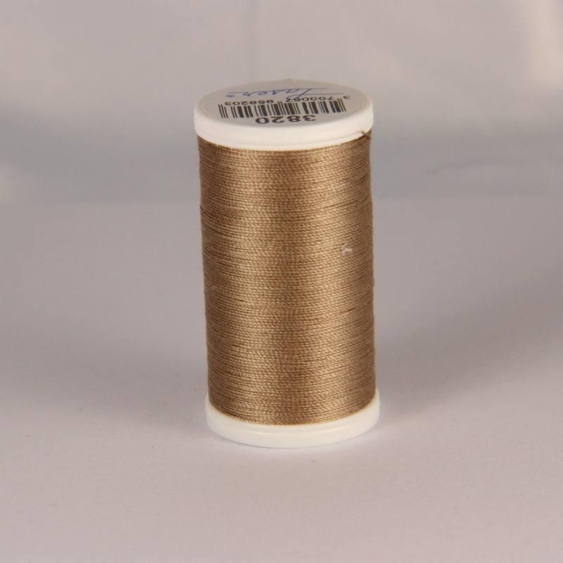 Fil coton laser marron clair 3820