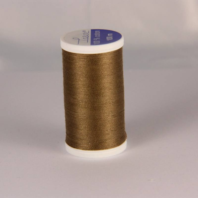 Fil coton laser marron clair 3822