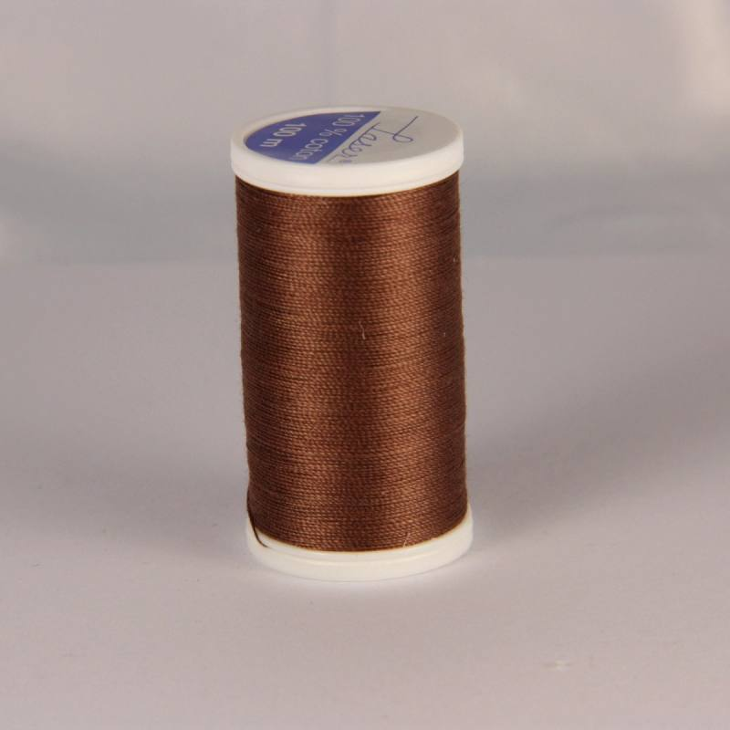 Fil coton laser marron 3828