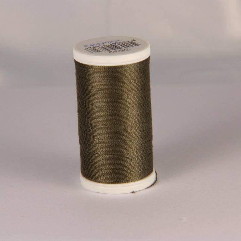Fil coton laser marron 3832