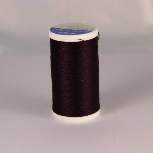 Fil coton laser marron foncé 3864