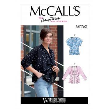Patron McCall's M7760 : Gilet et veste pour femme 42-50