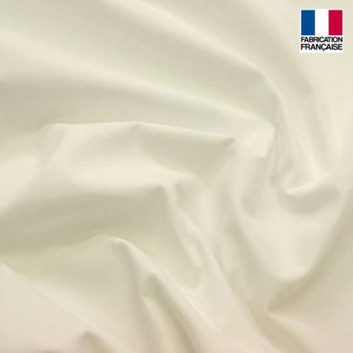Toile coton ignifugée M1 blanche