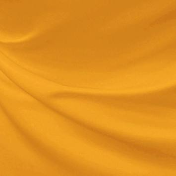 Satin duchesse jaune blé, à l'aspect soyeux, de qualité