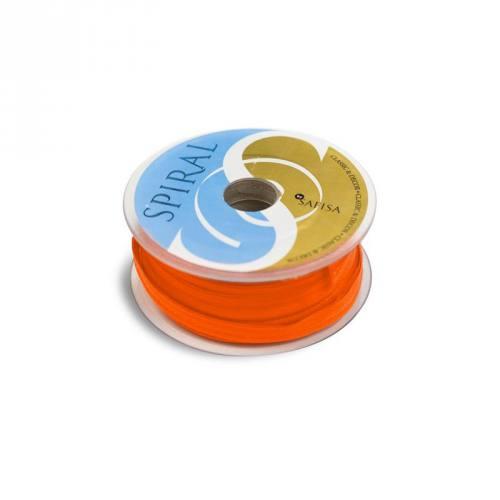 Bobine 25M passepoil 15 mm orange carotte