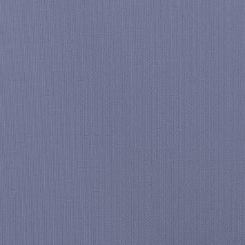 Toile polycoton aspect lin bleu
