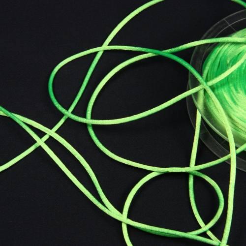 Cordon queue de rat vert fluo