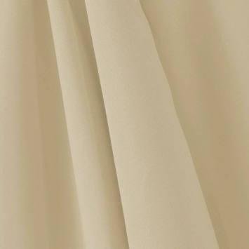 Tissu occultant grande largeur sable