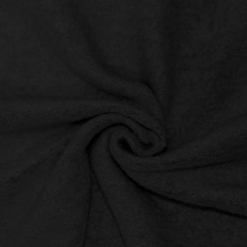 Tissu lainage noir