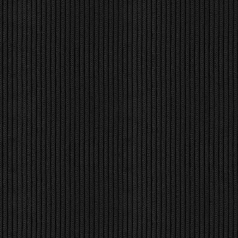 Velours côtelé moyennes côtes noirs
