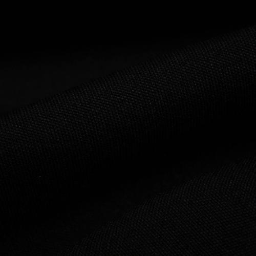 Rouleau 25m Burlington infroissable Oeko-tex noir