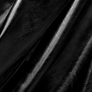 Lycra noir effet vinyle