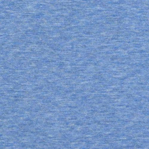Jersey matelassé bleu ciel