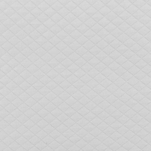 Jersey matelassé gris clair
