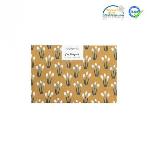 Coupon 40x60 cm coton noisette paplumi