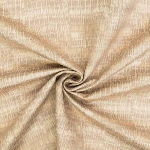 Velours ras mélange de stries beiges, crème et grèges