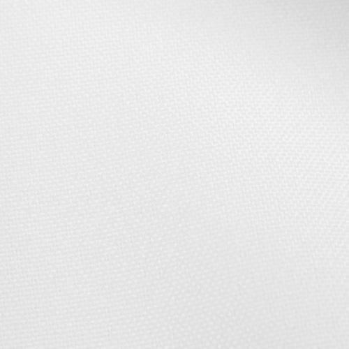 Rouleau 30m burlington infroissable Oeko-tex blanc grande largeur