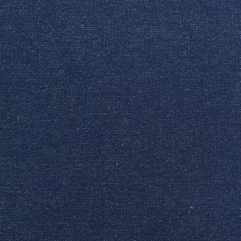 Toile polyester bleu foncé effet jean