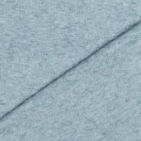 Tissu maille jersey vert de gris
