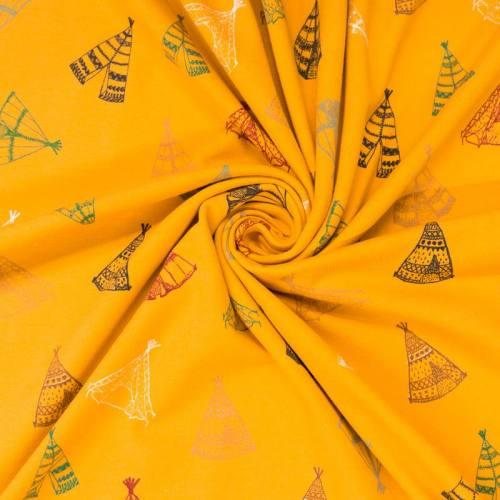 Jersey ocre motif tipi