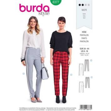 Patron Burda 6377 : Pantalon Taille : 34-44