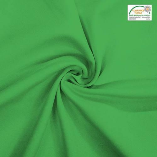 Rouleau 24m burlington infroissable Oeko-tex vert prairie