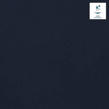 Toile polyester souple imperméable bleu marine