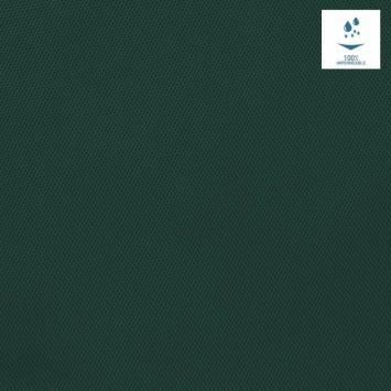 Toile polyester souple imperméable vert sapin