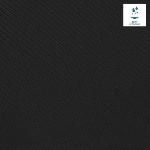 Toile polyester souple imperméable noire
