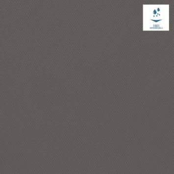 Toile polyester souple imperméable grise