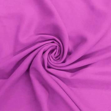 Tissu viscose uni violet
