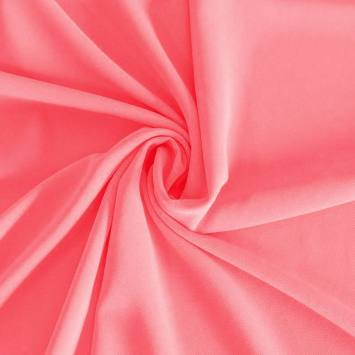 Mousseline crêpe pearl rose bonbon