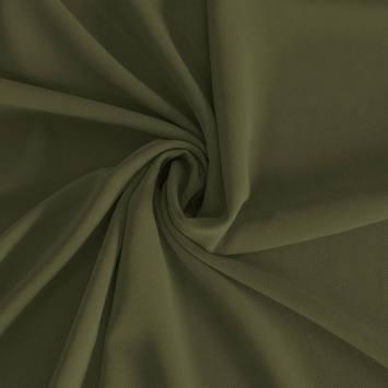 Mousseline crêpe pearl vert