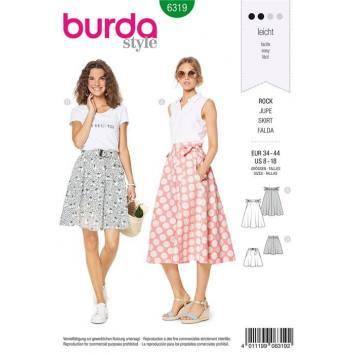 87e7df6b1caa11 Patron Burda jupe femme pas cher, patron de couture, patron burda ...