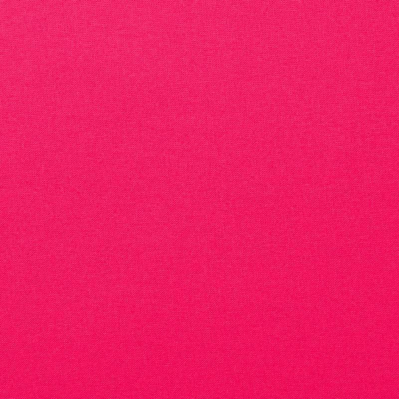 Coton uni couleur fuchsia