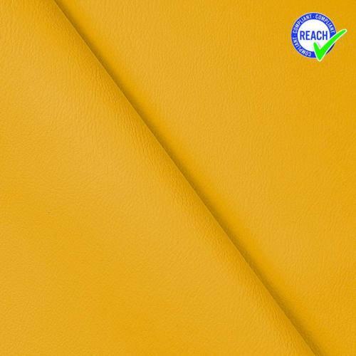 Simili cuir jaune