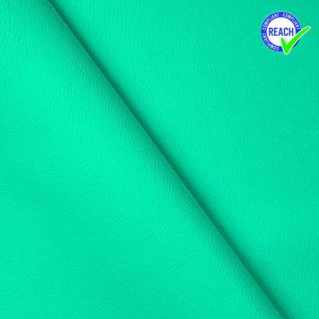 Simili cuir vert lagon