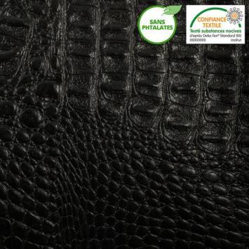 Simili croco noir
