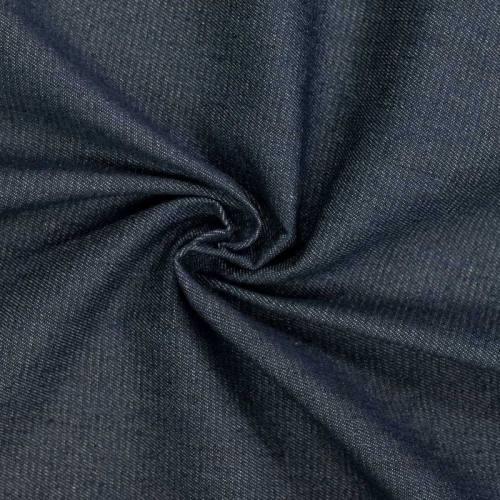 Tissu jean brut bleu jean foncé