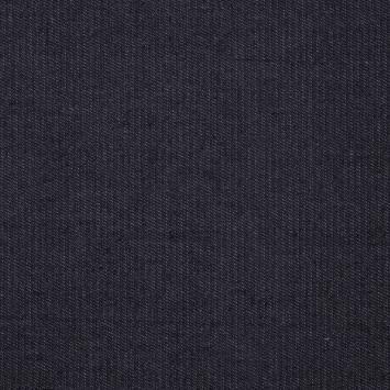 Tissu jean brut bleu sombre