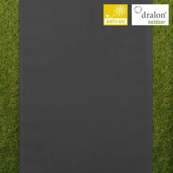 coupon - Coupon 50cm - Toile transat gris foncé