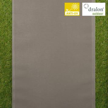 coupon - Coupon 115cm - Toile transat taupe