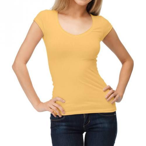 coupon - Coupon 35cm - Jersey uni bio jaune