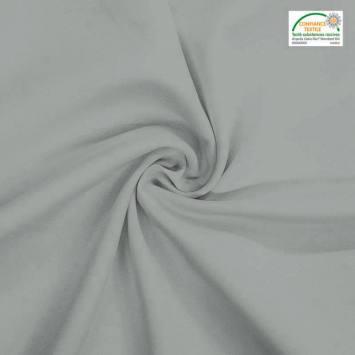 coupon - Coupon 53cm - Burlington infroissable Oeko-tex gris perle