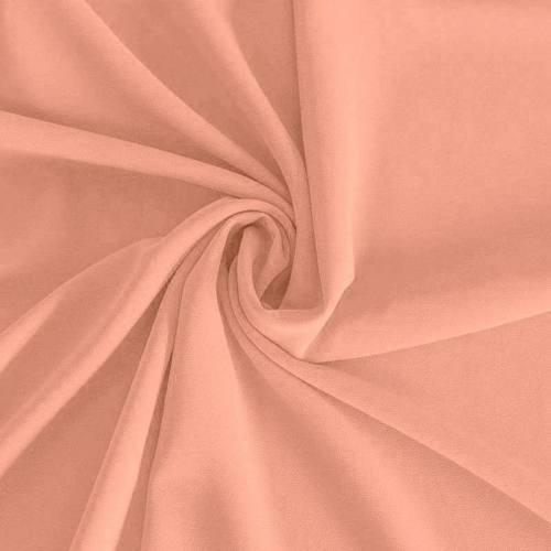 Mousseline crêpe pearl vieux rose