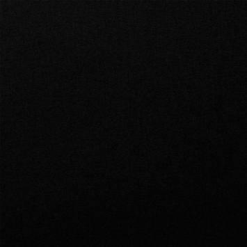 Coton noir uni oeko-tex