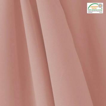 Tissu occultant grande largeur rose thermique et phonique