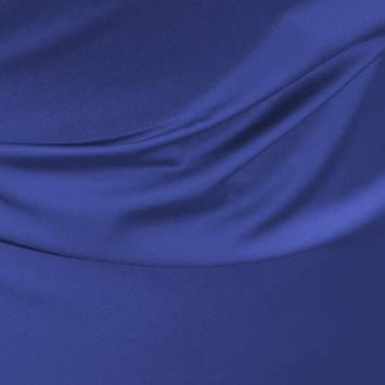 coupon - Coupon 45cm - Satin microfibres royal bleu roi