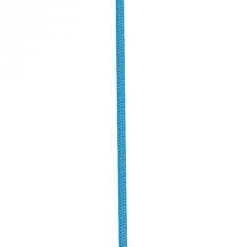 Cordon coton 8 mm bleu canard