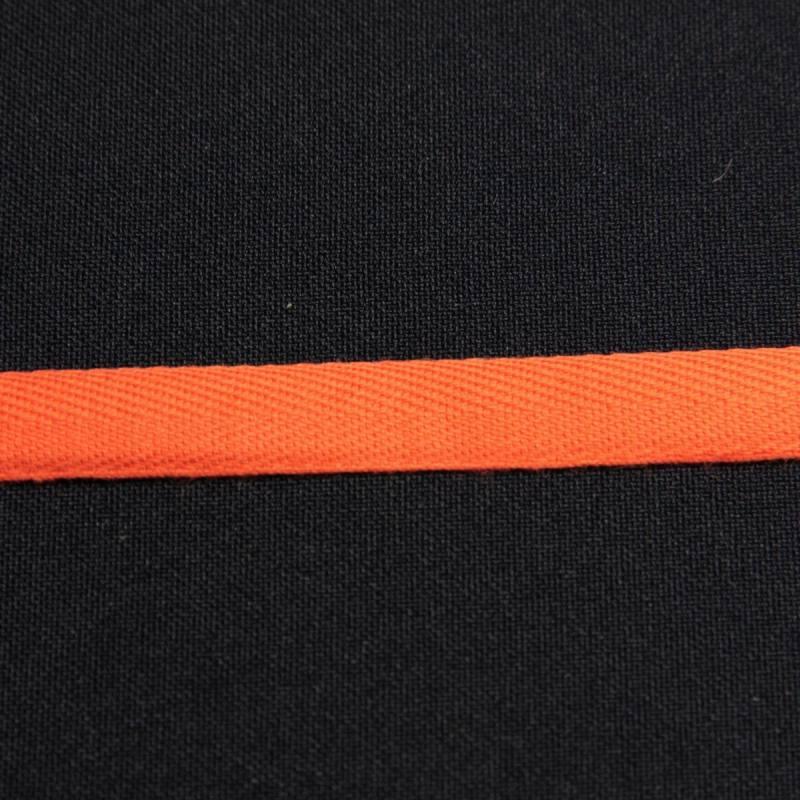 Ruban sergé orange 11 mm